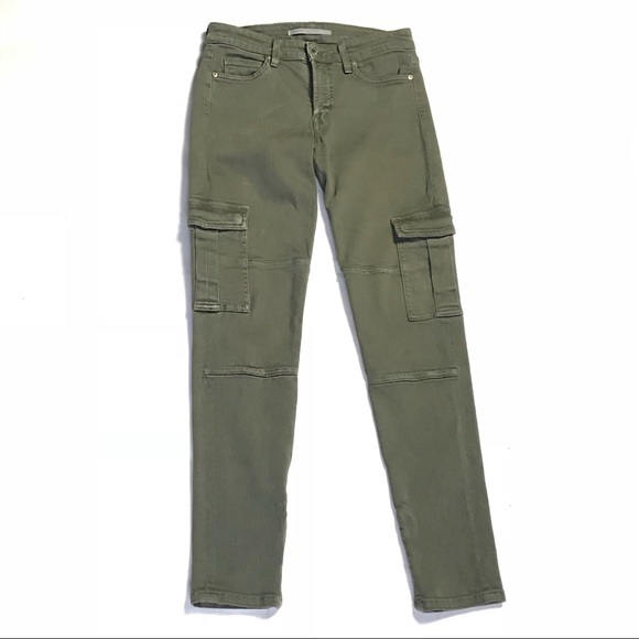 5a9674645e8ea0 Vince Jeans | Skinny Army Green Cargo Ankle Zip 28 | Poshmark